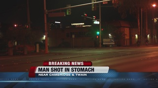 Man shot in stomach near Twain, Cambridge