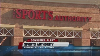 Sports Authority closing all stores, 2 in Vegas