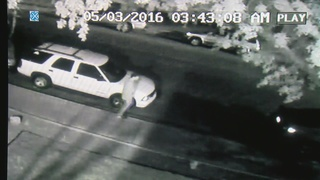 CAUGHT ON CAMERA: Thief allegedly had master key