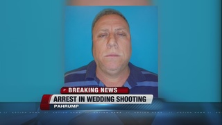 UPDATE: Man arrested in Pahrump wedding shooting
