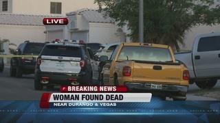 Woman found dead in garage