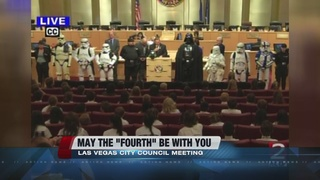 City Council celebrates National Star Wars Day