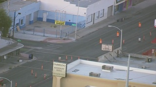 Downtown construction project impacting business