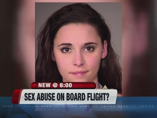 Woman pleads to assaulting another on flight