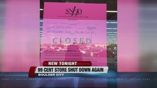 DIRTY DINING: 99 Cent Store shut down again