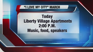 I Love My City march planned for this weekend