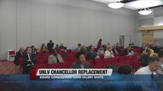 Former UNLV provost considered for chancellor