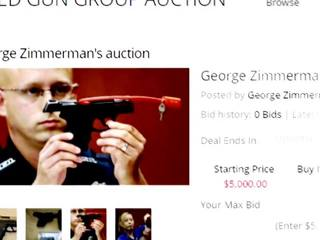 George Zimmerman talks about gun sale