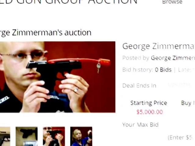 EXCLUSIVE: George Zimmerman talks about selling gun that killed Trayvon Martin