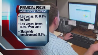 Las Vegas jobless figures up slightly