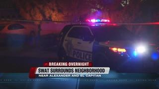 SWAT surrounds valley neighborhood