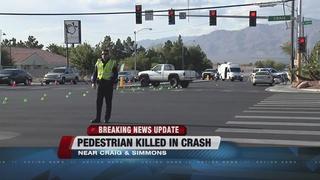 UPDATE: Pedestrian dies after struck by vehicle