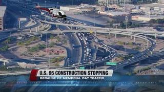 NDOT halts I-515 work during Memorial Day