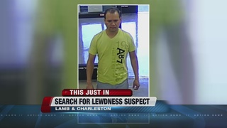 Police seek suspect in lewdness incident