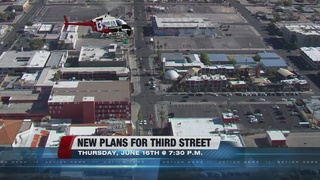 Public meeting to discuss changes to Third St.