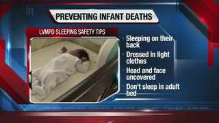 Sleeping safety tips for infants and babies