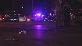 One critically injured after being hit by car
