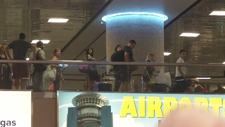 McCarran sees delays due to holiday travel