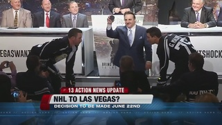 NHL in Vegas decision to be made in June