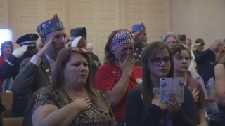Veterans remembered at emotional ceremony