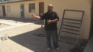 North Las Vegas complex overrun with squatters