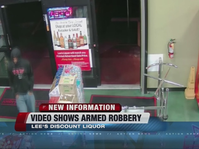 Surveillance video shows shocking moments in Lee's Liquor ...