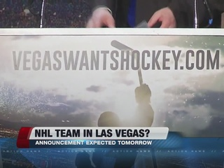 Las Vegas hockey announcement expected Wednesday