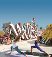 Hot yoga coming to Neon Boneyard