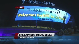 Las Vegas named official new home of NHL team