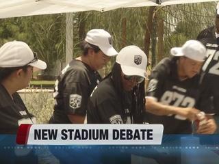 POLL: Voters oppose paying for Vegas stadium