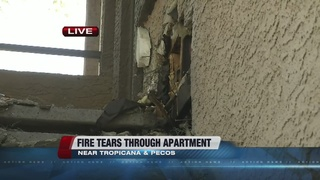 8 displaced in early morning apartment fire