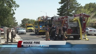 Attic fire displaces four on east side of valley