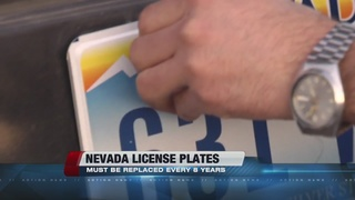 Law requiring new license plates to take effect