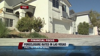 Foreclosure rates falling in Las Vegas