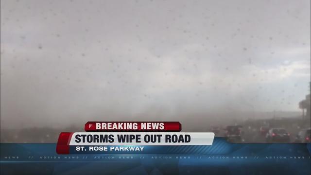 Rain, thunder, lightning reported around valley