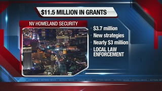 Nevada getting nearly $12M for homeland security