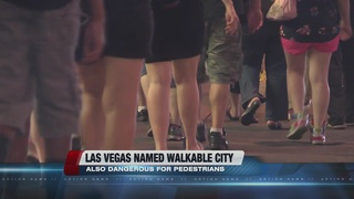Poll: Las Vegas most dangerous for pedestrians