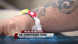 UPDATE: Man says air conditioning has been fixed