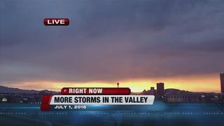 Will it rain today in Las Vegas?