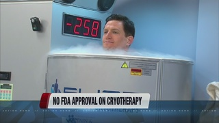 FDA issues warning about cryotherapy