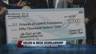Soldo, Beck scholarships awarded