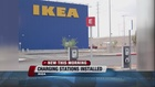 IKEA installs electrical charging stations