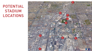 PHOTOS: Nine proposed Las Vegas stadium sites