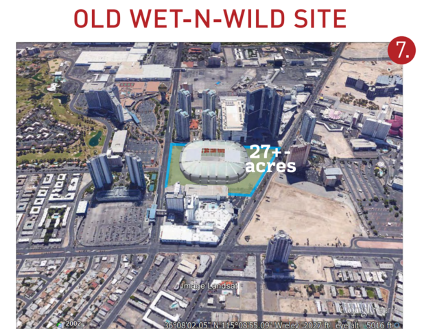 Wet N Wild Las Vegas Map.Las Vegas Sports Venues Page 2 Skyscrapercity