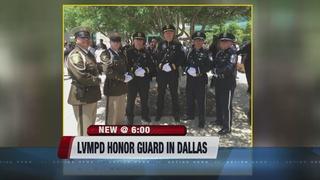 LVMPD Honor Guard travels to Dallas