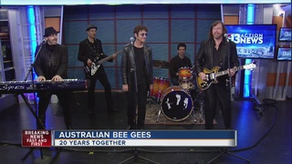 Australian Bee Gees celebrating 20 years
