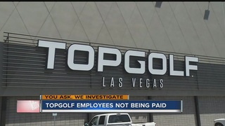 YOU ASK: Topgolf employee not paid for work