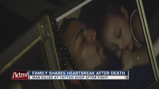 Son killed in tattoo shop, family speaks out