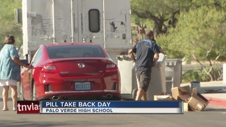 Pill takeback day held at Palo Verde High School