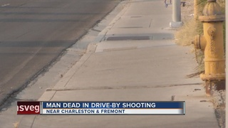 Man dead in drive-by shooting Saturday night